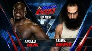 Apollo Crews vs Luke Harper