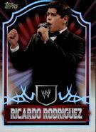 2011 Topps WWE Classic Wrestling Ricardo Rodriguez 56