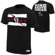 CM Punk Rise Above Cancer Black Authentic T-Shirt