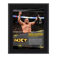 Samoa Joe TakeOver Toronto 10 x 13 Commemorative Photo Plaque