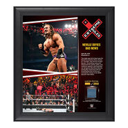 Neville Extreme Rules 15 x 17 Framed Ring Canvas Photo Collage