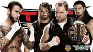 TLC 2013 Punk v Shield