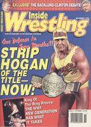 Inside Wrestling - November 1995