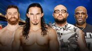 SS 2016 Zayn & Neville v Dudley Boyz
