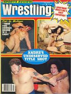 Sports Review Wrestling - July 1979