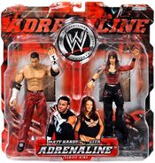 WWE Adrenaline Series 9 Matt Hardy & Lita