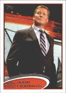 2012 WWE (Topps) John Laurinaitis 63