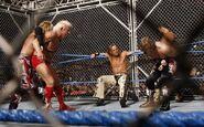 Smackdown 3-14-08 Handicap Steel Cage 2