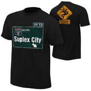 Brock Lesnar Suplex City Youth Authentic T-Shirt