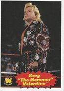 2012 WWE Heritage Trading Cards Greg Valentine 76