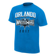 WrestleMania 33 Orlando Blue T-Shirt