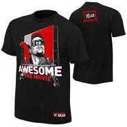 The Miz Awesome The Movie Authentic T-Shirt
