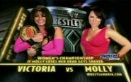 Wrestlemania 20 Victoria vs Molly Holly