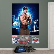 John Cena Mural 54 x 80 Fathead