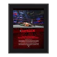 The Hardy Boyz Payback 2017 10 x 13 Commemorative Photo Plaque