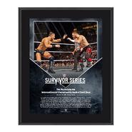 The Miz Survivor Series 2016 10 x 13 Commemorative Photo Plaque