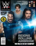 October 2014 WWE Magazine