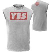 Daniel Bryan YES Grey Muscle T-Shirt