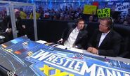 Michael Cole, Josh Mathews & Jerry Lawler