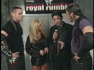 Royal Rumble 2000 Hardyz interview