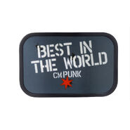 CM Punk Best In The World Belt Buckle
