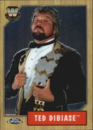 2008 WWE Heritage III Chrome Trading Cards Ted DiBiase 82