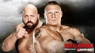 RR 2014 Big Show v Lesnar