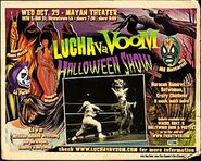 Lucha VaVoom Poster 4