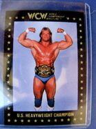1991 WCW Collectible Trading Cards (Championship Marketing) Lex Luger 92