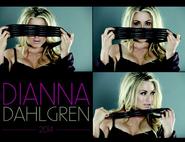 Dianna Dahlgren 2014 Calendar