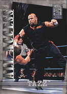 2002 WWF All Access (Fleer) Tazz 49