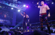 Taker and Kane vs edge and chavo