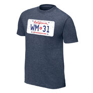 WrestleMania 31 License Plate T-Shirt