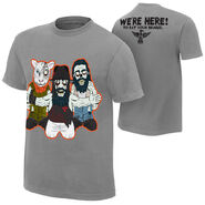The Wyatt Family We're Here T-Shirt