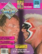 WCW Magazine - April 1992