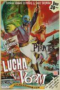Lucha VaVoom Summer 2015 Poster