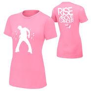 Fandango Rise Above Cancer Pink Women's T-Shirt