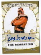 2016 Leaf Signature Series Wrestling The Barbarian 6
