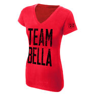 The Bella Twins Team Bella Women's V-Neck Authentic T-Shirt