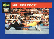 1991 WWF Classic Superstars Cards Mr. Perfect 89