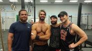 CJ Parker, Seth Rollins, Shane Hollister and Marek Brave