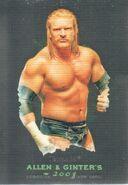 2008 WWE Heritage III Chrome (Topps) (Allen & Ginter) Triple H 4