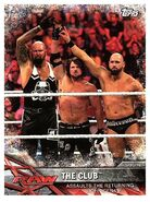 2017 WWE Road to WrestleMania Trading Cards (Topps) The Club 90