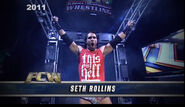Seth Rollins (WWE Superstar Ink) 3