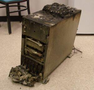 Burnt-computer