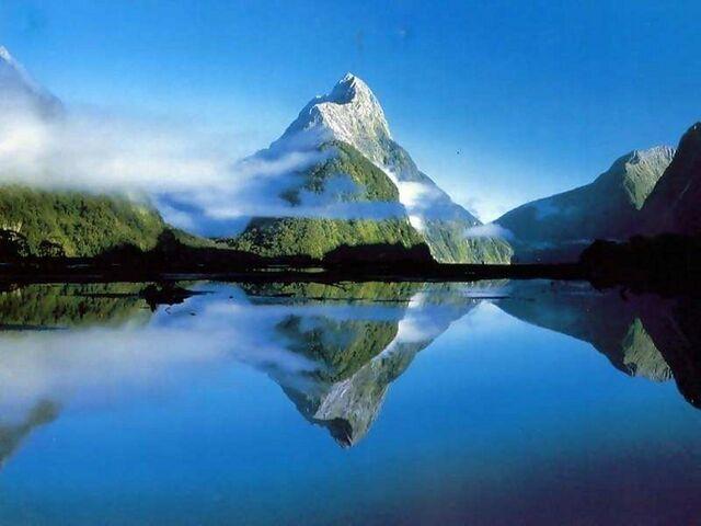 File:Mountain and Lake.jpeg