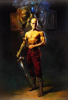 Bald warrior