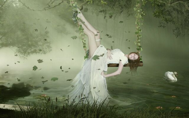 File:Free Scenery Wallpaper A Fantasy Girl What a Sleeping Beauty.jpg