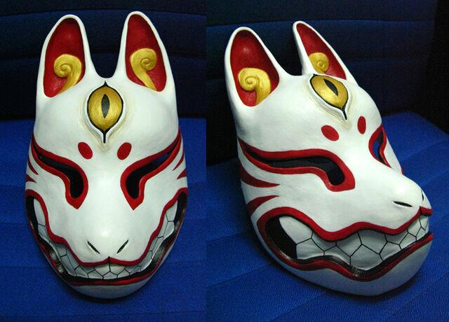 File:Kitsune mask by silverfox 5213-d4h5de0.jpg