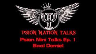 Psion Nation Psion Mini Talks 1.5 Ep. 1